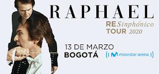 RAPHAEL en concierto Bogotá