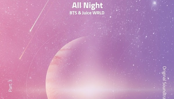 BTS, Juice WRLD – All Night Lyrics