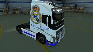 Real Madrid skin for Volvo 2012