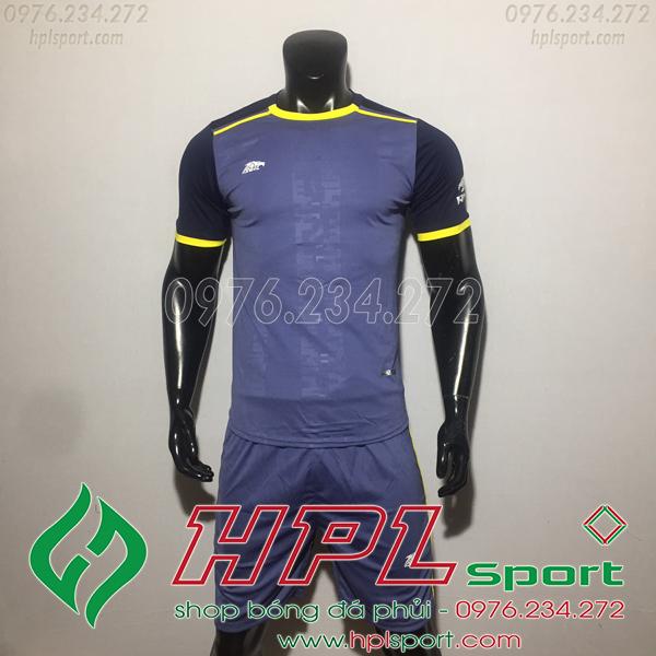 Áo bóng đá ko logo Eureka HAT TV  Màu Nâu