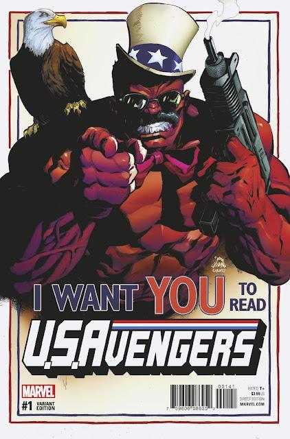 U.S.AVENGERS #1!