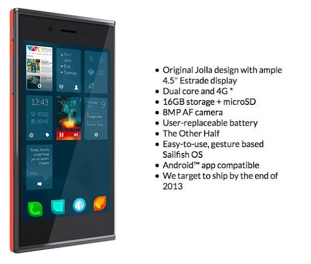 First batch of smartphones sold Jolla, to deliver later this year