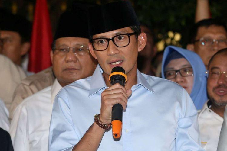 Ada Keluarga Uno Dukung Jokowi, Sandiaga Mengaku Tak Kenal
