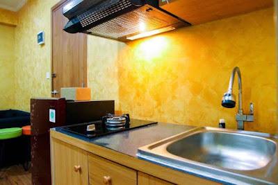 apartemen di jakarta timur dengan fasilitas kitchen
