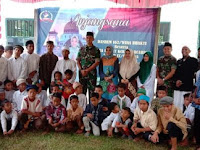 Danrem Kunjungi Ponpes Usman Bin Afan di Dompu