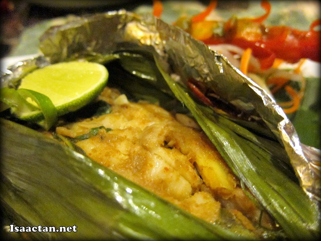Grilled Fish Fillet in Banana Leaf (Otak-Otak) - RM32