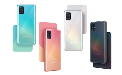 ألوان Samsung-galaxy-a51-colors