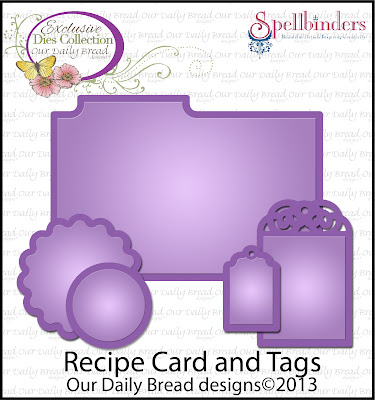 "ODBD ""Recipe Card and Tags"""