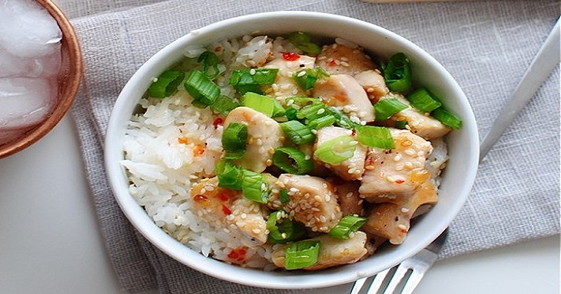 Sweet Chili Chicken With Coconut Rice Recipe