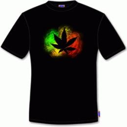 Koszulka Marihuana fraktal