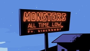 Monsters Lyrics - All Time Low Ft. blackbear