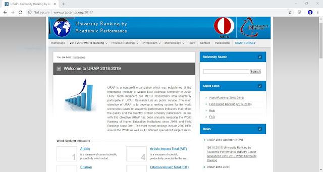 Home Page URAP Center