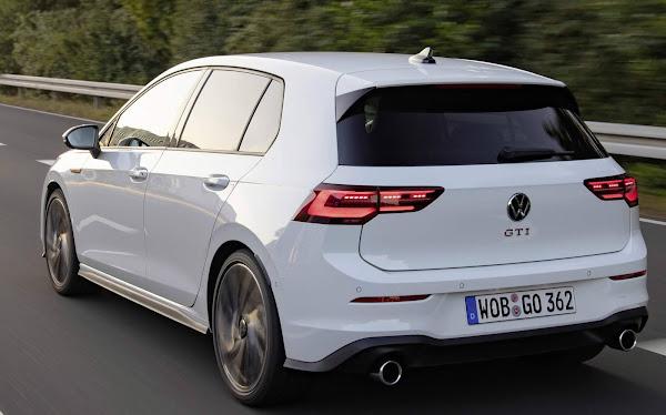 Novo VW Golf GTI 2022 - consumo