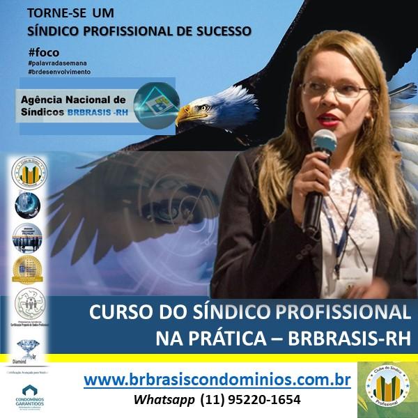 Inscrição para o Curso do Síndico Profissional - CERTIFICAÇÃO AVANÇADA DA BRBRASIS-RH