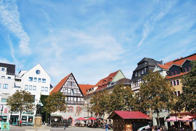 Jena en la Turingia, Alemania