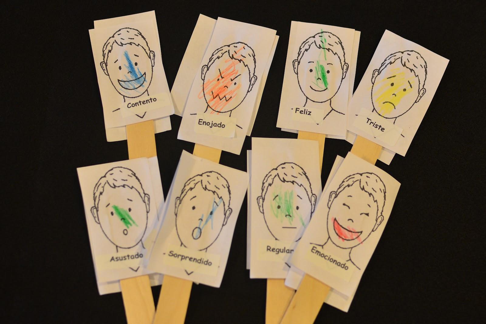 Homeschool Aventuras Feelings Lesson Plan Los Sentimientos
