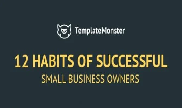 12 Habits of Successful Small Business Owners #infographic
