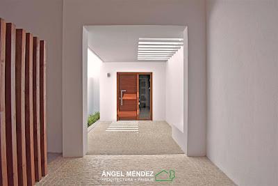 Zaguán, arquitectura paisaje, jardines arquitectónicos, terrazas, paisajismo