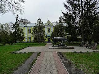 Дибровка. Миргородский р-н, Полтавскя обл. Конный завод.