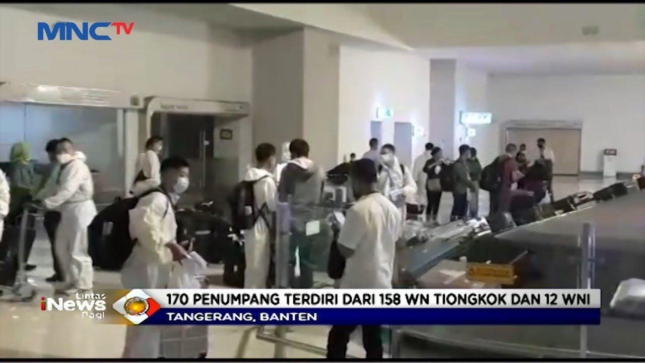 Viral Kedatangan 170 WN China di Indonesia, Netizen Geram!