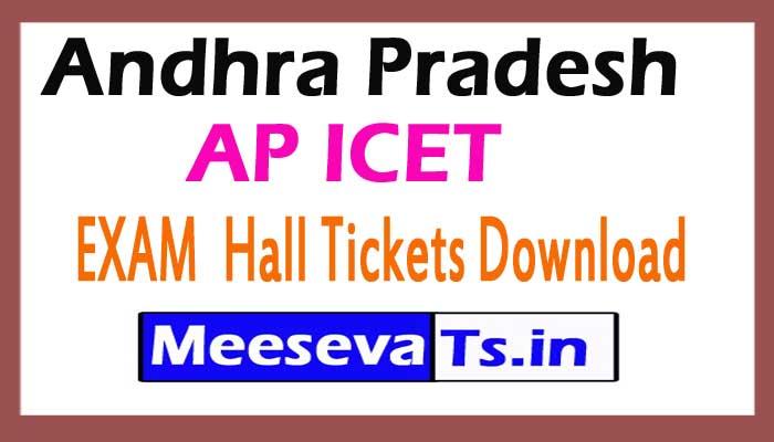 AP ICET EXAM  Hall Tickets Download 2017