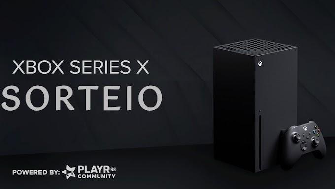 Sorteio do Xbox Series X