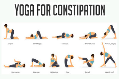Best Yoga Poses for Constipation Relief & Problems