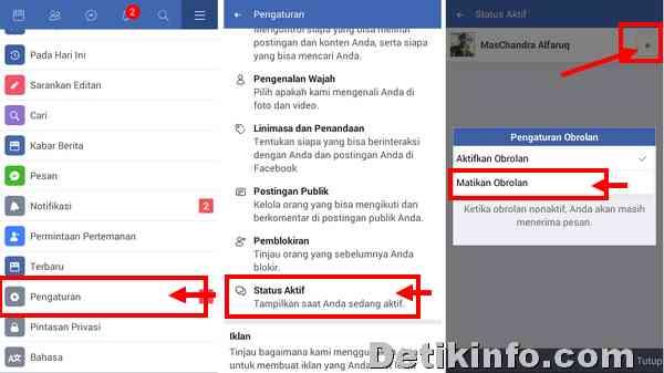 Cara Agar Tidak Tampak Online Saat Membuka Facebook Detik Info