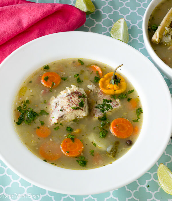 How to make Fish Broth Caribbean Style