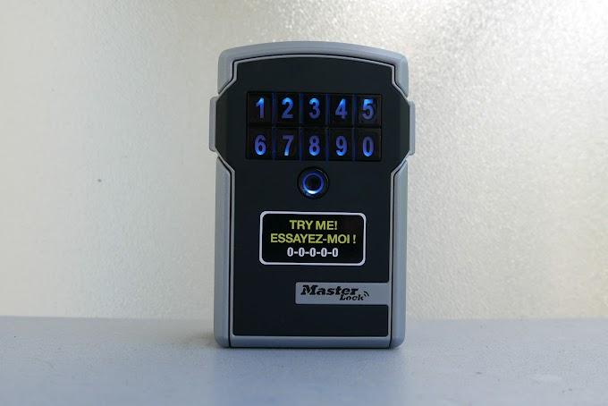 [Test] Master Lock Select Access Smart : le coffre-fort connecté pour partager vos clés