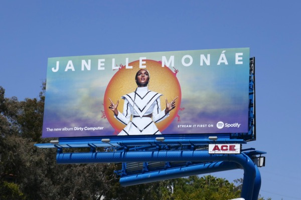 Janelle Monae Dirty Computer Spotify billboard