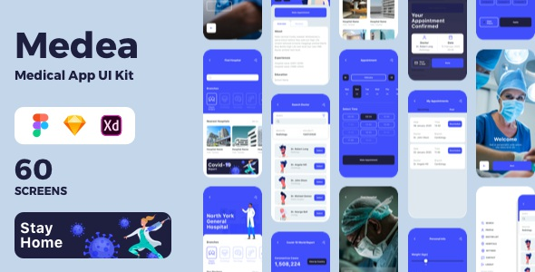 Medical App UI Kit