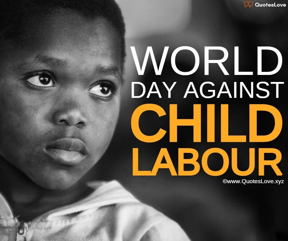 World Day Against Child Labour Poster, Images, Photo, Pictures