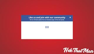 Cara Membuat Widget Flat Popup Facebook Like Box Untuk Blogspot