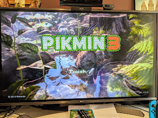Playing Pikmin 3 on the Wii U