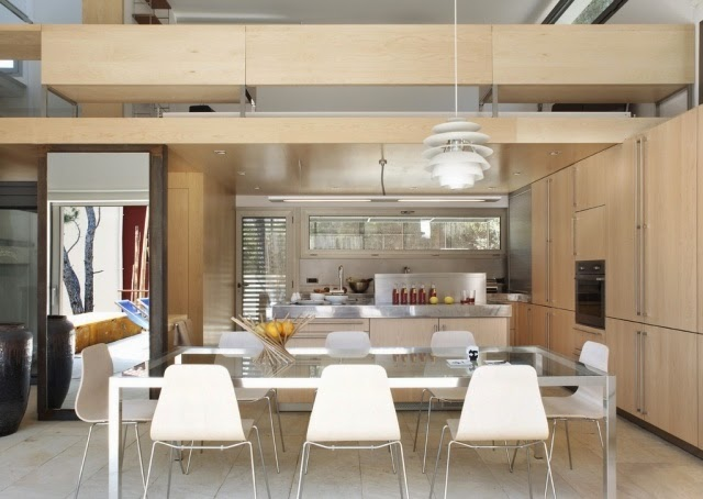 Fotos de comedor y cocina juntos - Colores en Casa