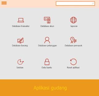 Aplikasi gudang, aplikasi stok barang, aplikasi payroll, aplikasi pengiriman barang, aplikasi surat jalan