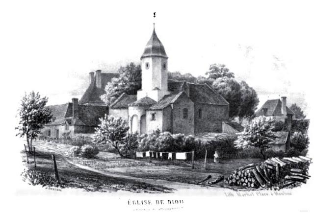 Patrimoine de l'Allier: église de Diou