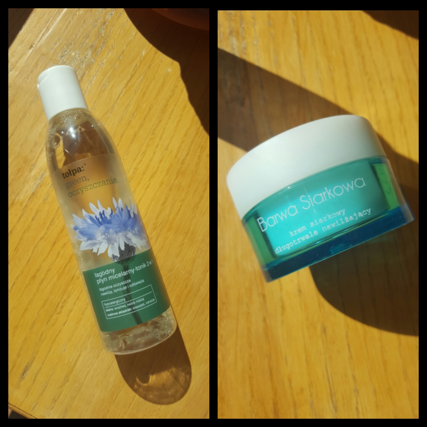 My make-up and face care