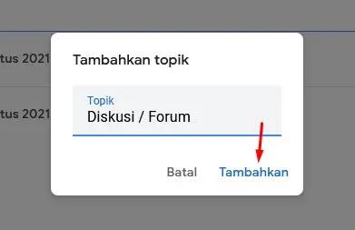 Add Topik