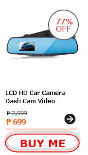 LCD HD Car Camera Dash Cam Video Recorder Rearview Mirror