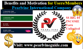 Benefits and Motivation for Users in Pearlvine International - Pearlvine Guide