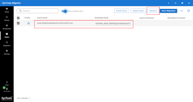 Office 365 to Office 365 email migration
