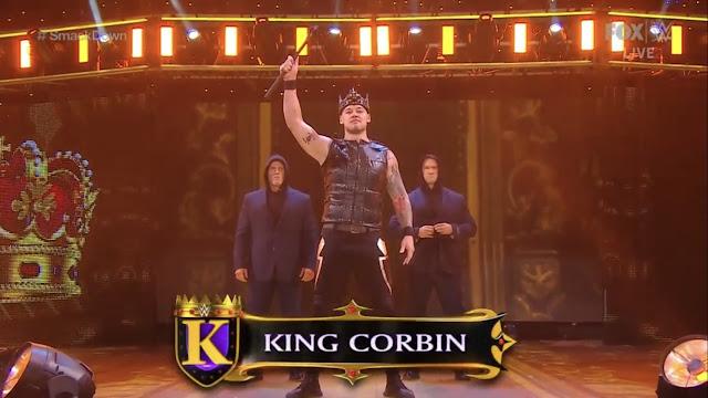 WWE King Corbin Jay Cutler Blake Forgotten Sons