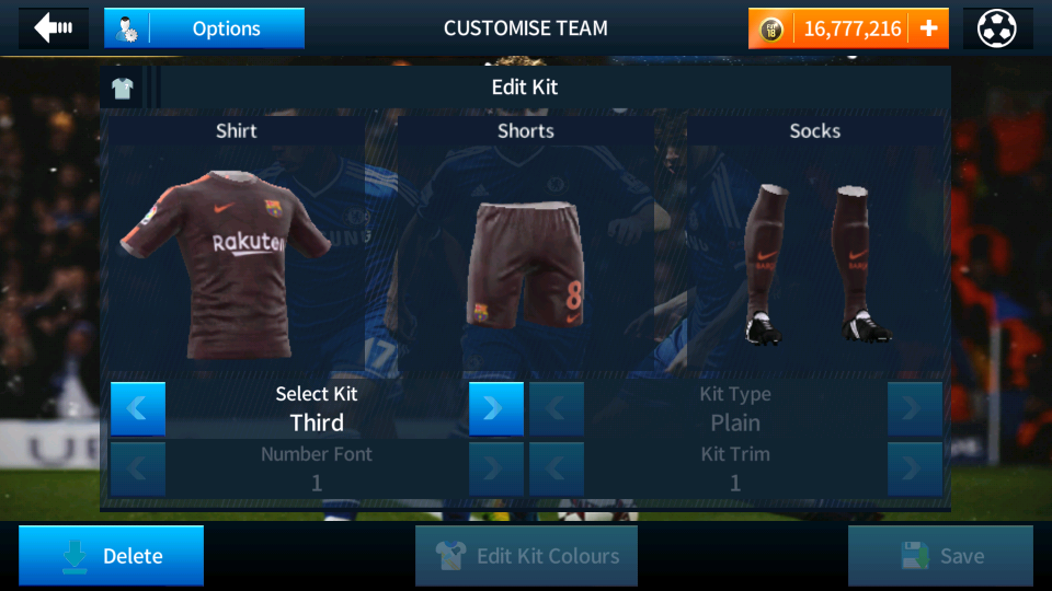 newest f6ee6 1f01d Fc Barcelona Logo And Kits For Dream League Soccer 2018