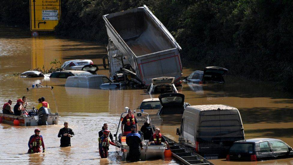 Central Europe Flood photo