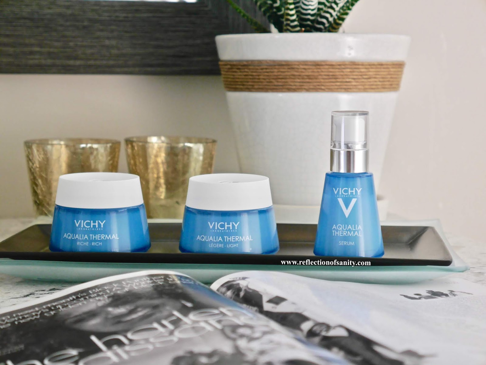 vichy aqualia thermal rehydrating cream light review
