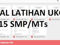 Download Soal-Soal Latihan UKG Tingkat SMP/MTs 2016
