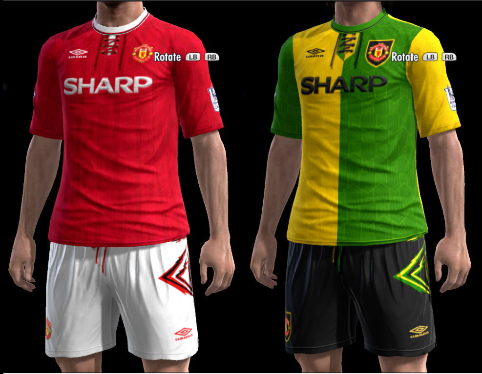 PES-MODIF: Classic Kits Manchester United By Olmajti