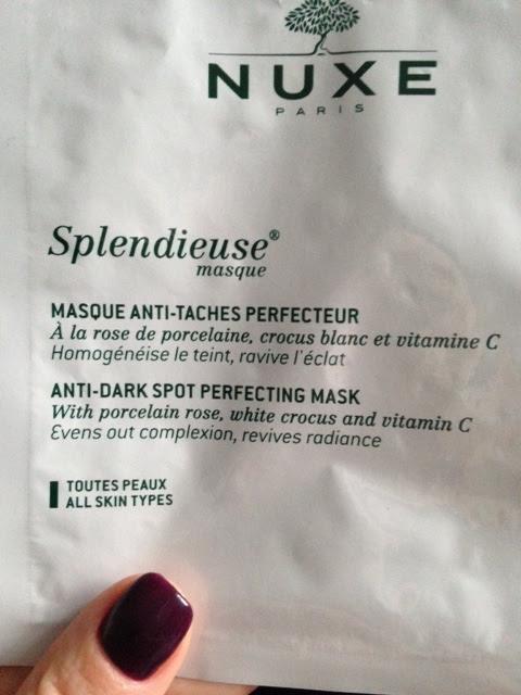nuxe masque